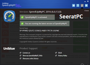 Uniblue SpeedUpMyPC Full Version