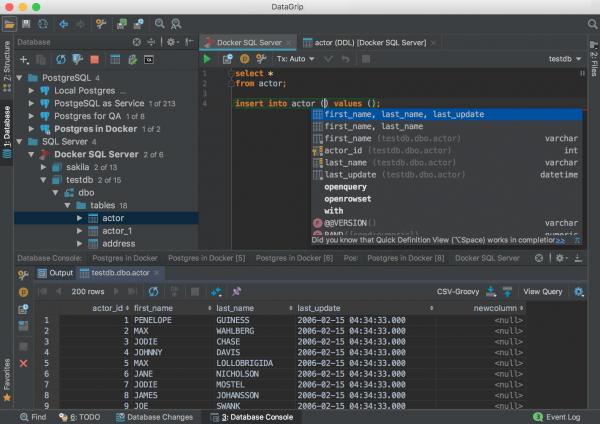 JetBrains DataGrip for Mac